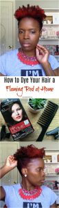 How to Dye Your Hair a Flaming Red at Home