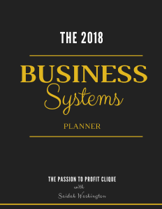 Business Systems Planner Cover
