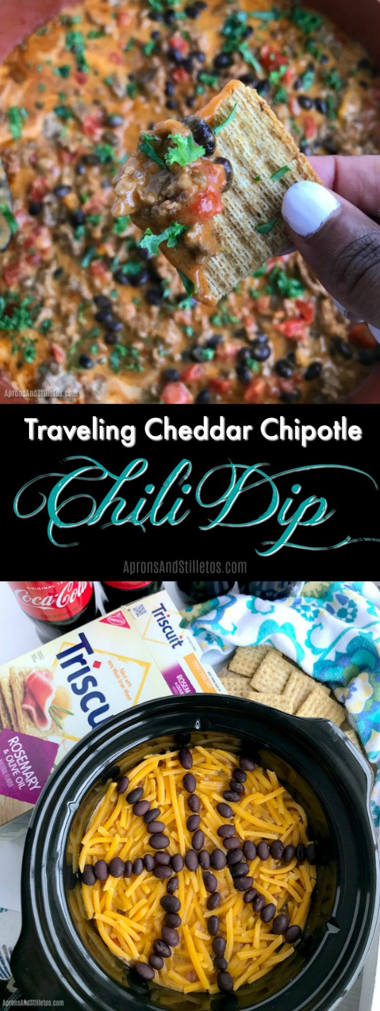 Traveling Cheddar Chipotle Chili Dip