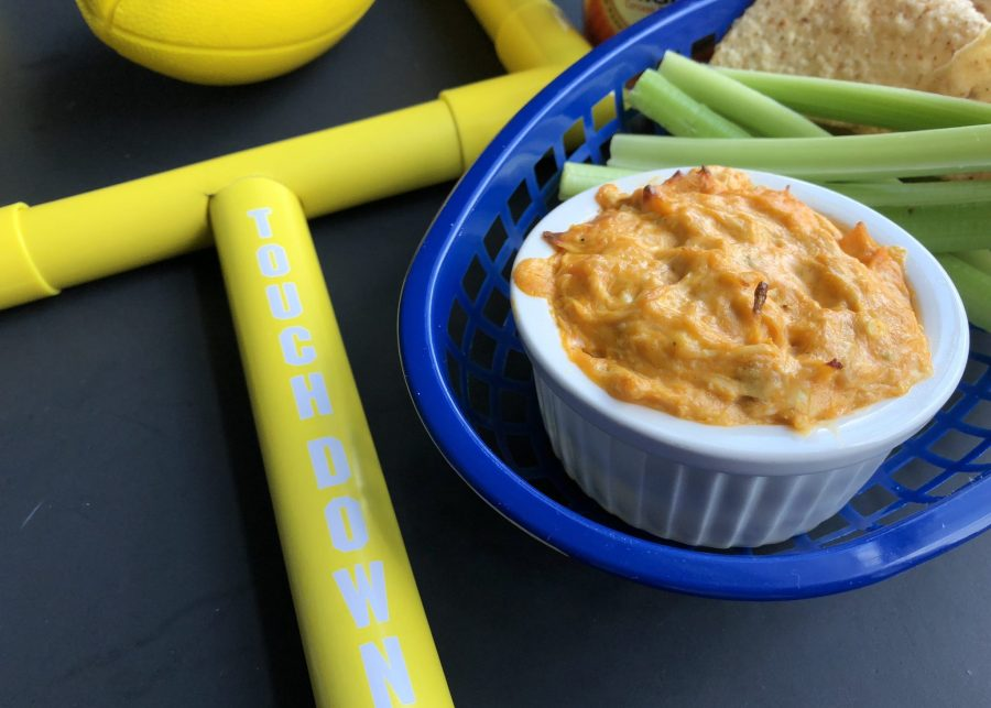 Ultimate HomeGate Buffalo Chicken Dip | 30 Minute Dish