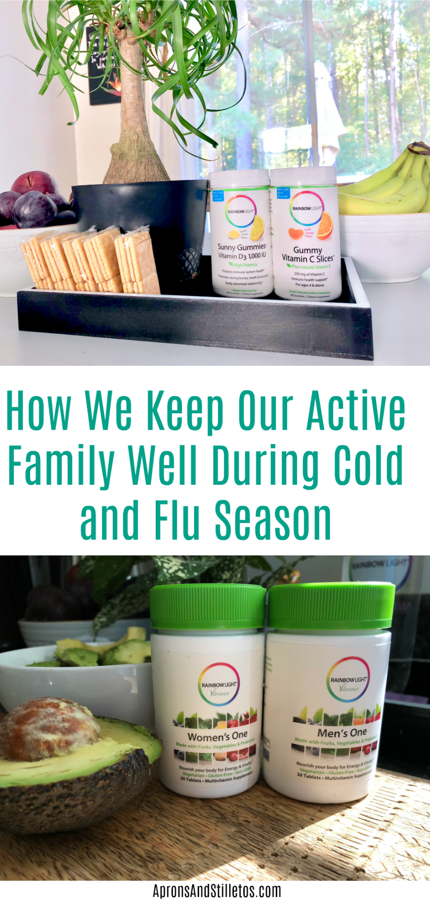 How We Keep Our Active Family Well During Cold and Flu Season