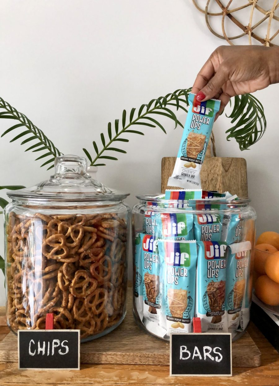 How to Set Up a Family Snack Station