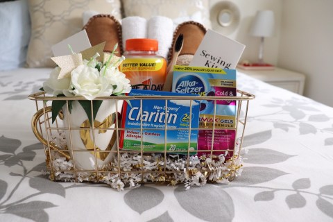 Holiday Guest Basket Essentials