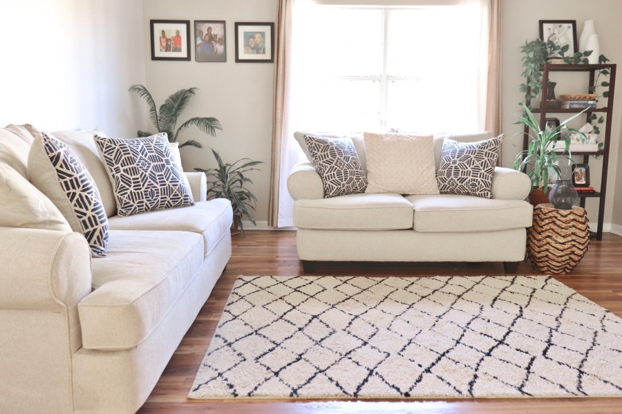 How We Picked Our Living Room Furniture