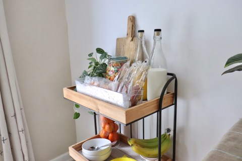 Easy Teen Breakfast Cart