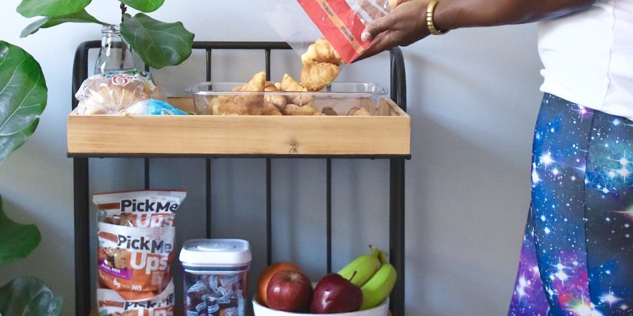 Family Friendly Continental Breakfast Cart