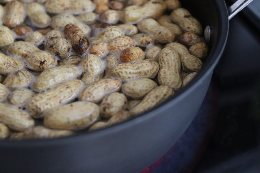 Southern Boiled Peanuts