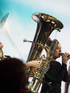 Tuba in Band Jazzrausch