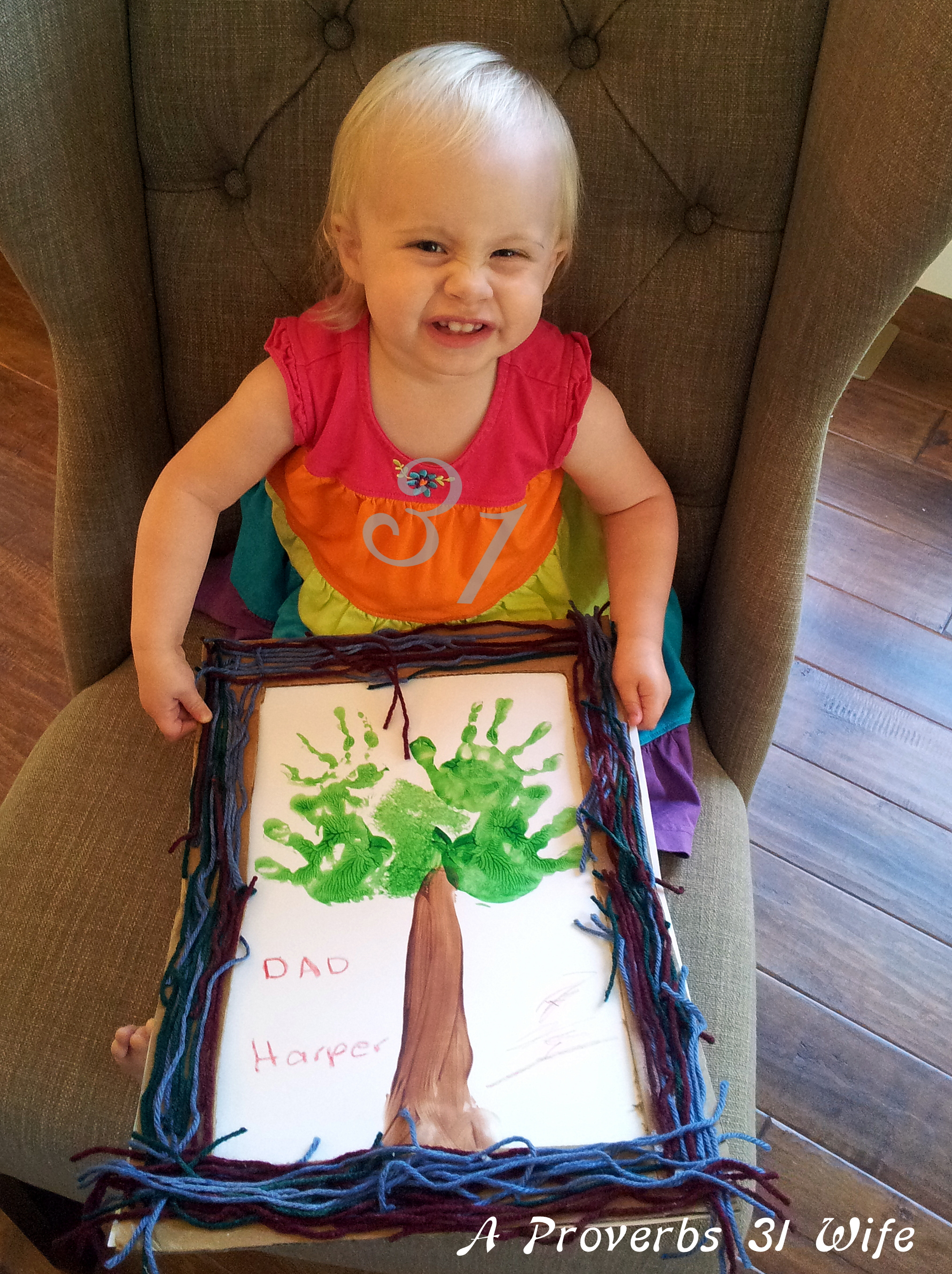 Fathers Day Craft For 2yr Olds