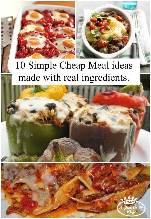 Good Cheap Meals Cook