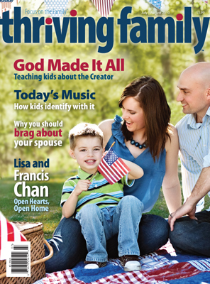 Thriving Family Magazine