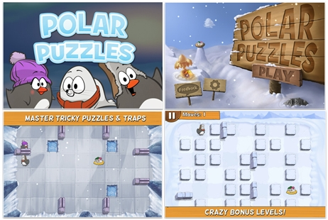 FREE Polar Puzzle iPhone and iPad App for Kids