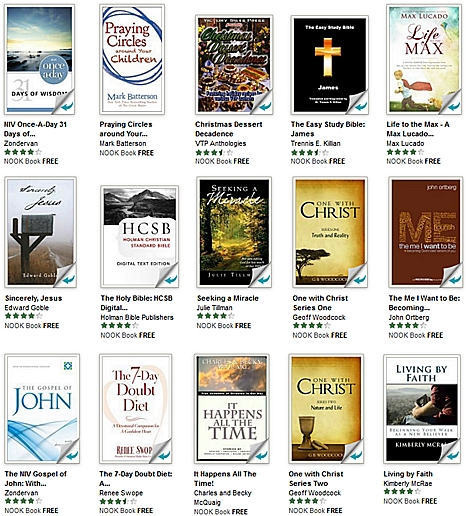 FREE Christian eBooks, Devotionals and More for Nook [NOOK Book]