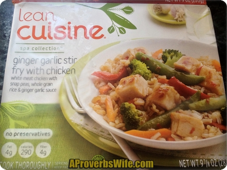 Lean Cuisine Spa Collection