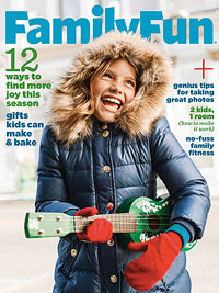 Family Fun Magazine 1-Year Subcription $3.76 (.38¢ an Issue) | Ends 1/6 at Midnight