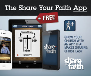 Share Your Faith | Now there's a FREE App for that! #ShareYourFaith