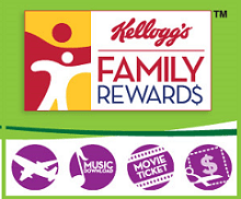 FREE 50 Kelloggs Family Rewards Points