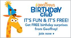 geoffreys birthday club