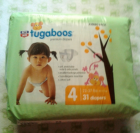 Rite-Aid Tugaboos Diapers | A New Alternative