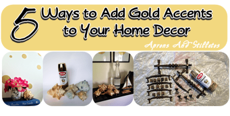 5 Ways to Add Gold Accents to Your Home Decor