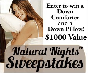 Enter To Win $1,000 Bed Set