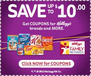 Sign Up For Kellogg's Family Rewards For Great Savings