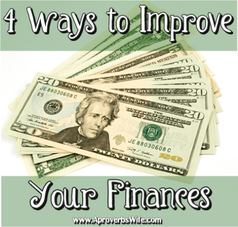 4 Ways to Improve Your Finances