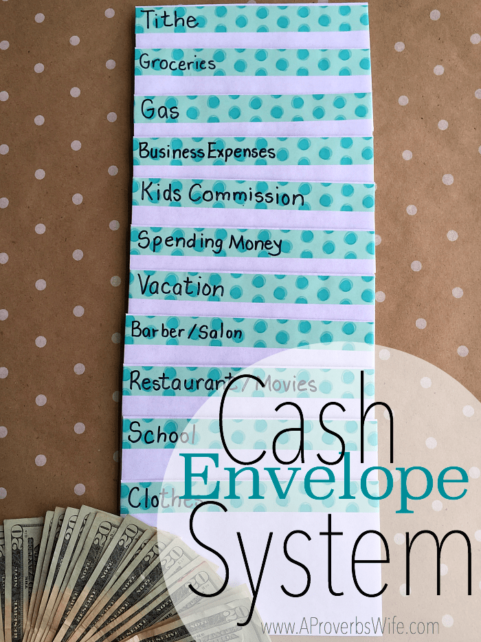 Cash Envelope System