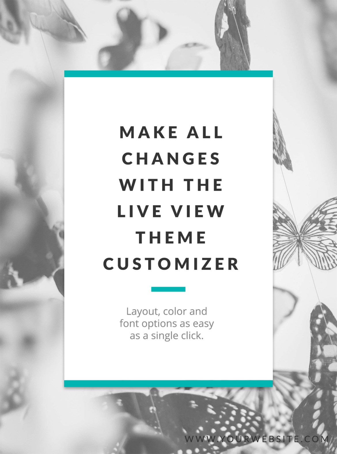Live View Theme Customizer