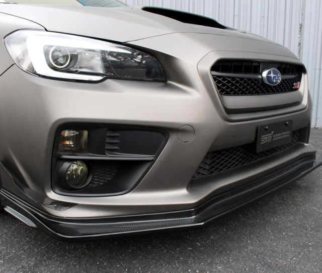 2015 Wrx Sti Front Air Dam And Canards