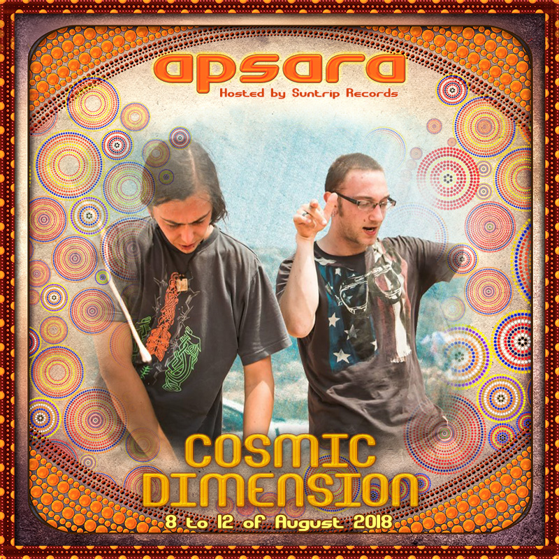 More artists this week : Cosmic Dimension