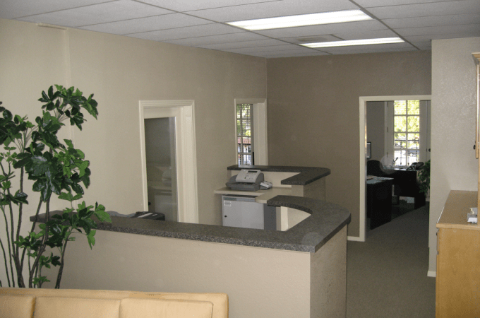 Office remodeling project in San Diego