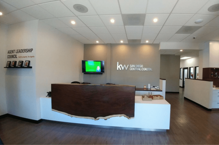 Real Estate office design for Keller Williams by APS San Diego