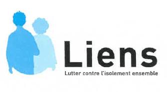 Logo de notre dispositif LIEN (Lutter contre l'isolement ensemble)