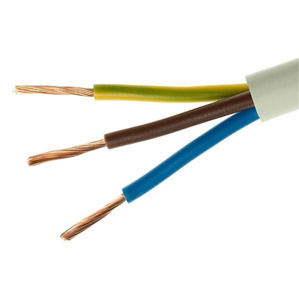 OMY kabelis 3x0.75mm2 (juodas)