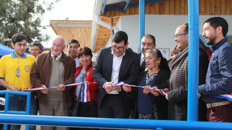 Se inaugura nueva Estación Médico Rural en la Villa El Palqui