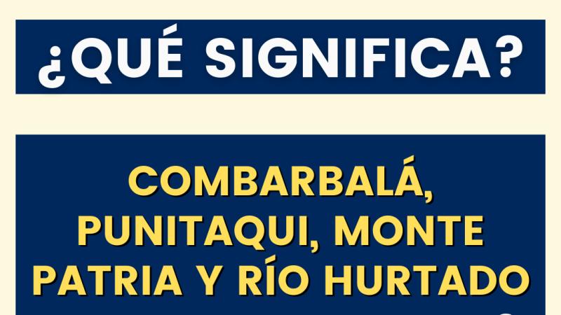 ¡Atención! MINSAL informa que la comuna de Monte Patria retrocede a fase 3 en el plan #PasoaPaso