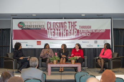 Panel of local executives discuss corporate issues that impact women