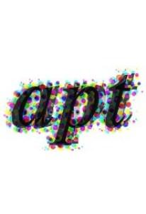 Overlapping apt logo