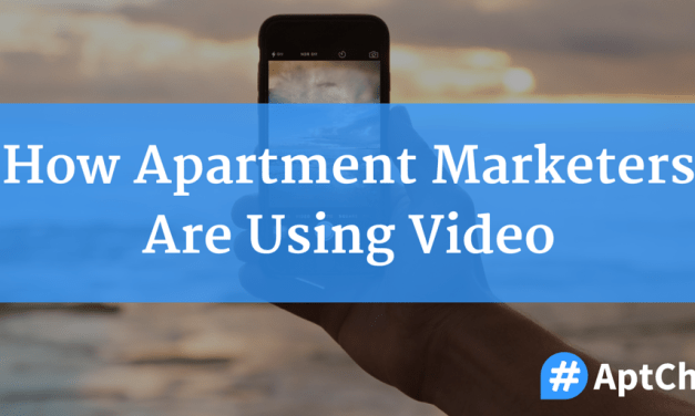 How Apartment Marketers Are Using Video