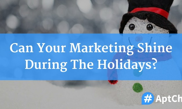 Can Your Marketing Shine During The Holidays?