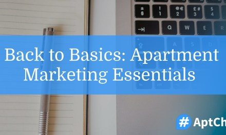 Back to Basics: Apartment Marketing Essentials