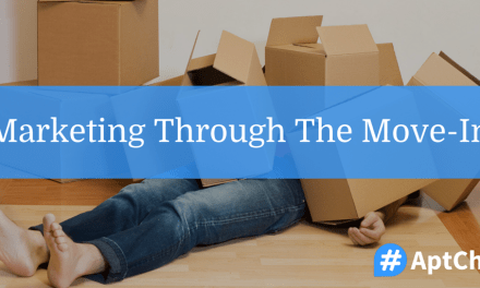 Marketing Through The Move-In