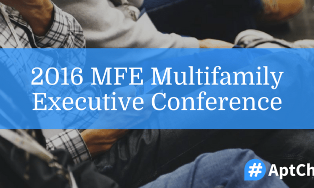 2016 MFE Multifamily Executive Conference