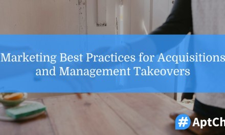 Marketing Best Practices for Acquisitions and Management Takeovers