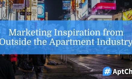 Marketing Inspiration from Outside the Apartment Industry