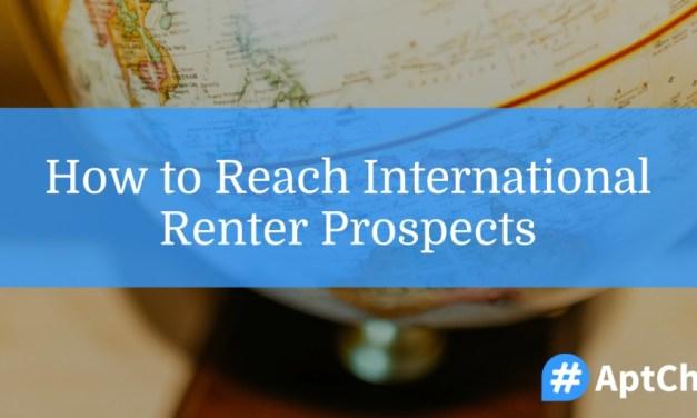 How To Reach International Renter Prospects