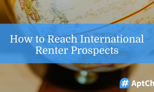 How To Reach International Renter Prospects