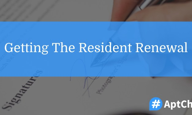 Getting The Resident Renewal