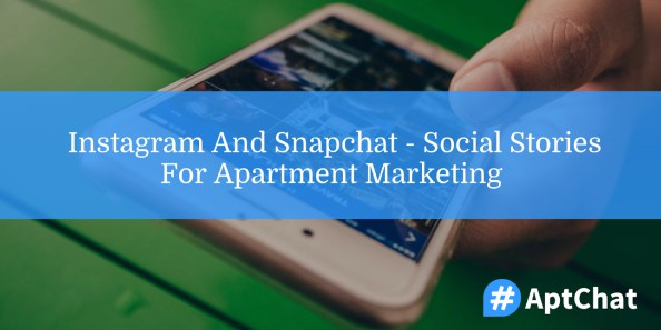 instagram and snapchat for apartment marketing
